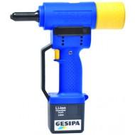 Akumulátorová pistole na nýty GESIPA PowerBird Gold Edition